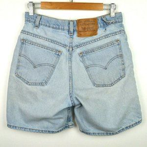 VTG Levi's 950 Relaxed Fit Light Wash Jean Shorts